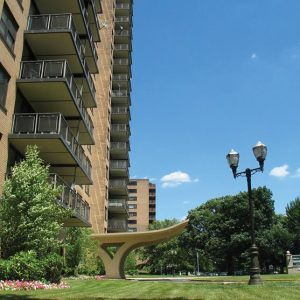 Country Club Towers Apartments For Rent in Clifton, NJ Building View